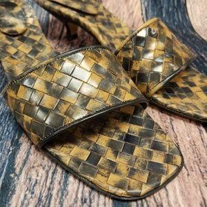Sesto Meucci Woven Sandals
